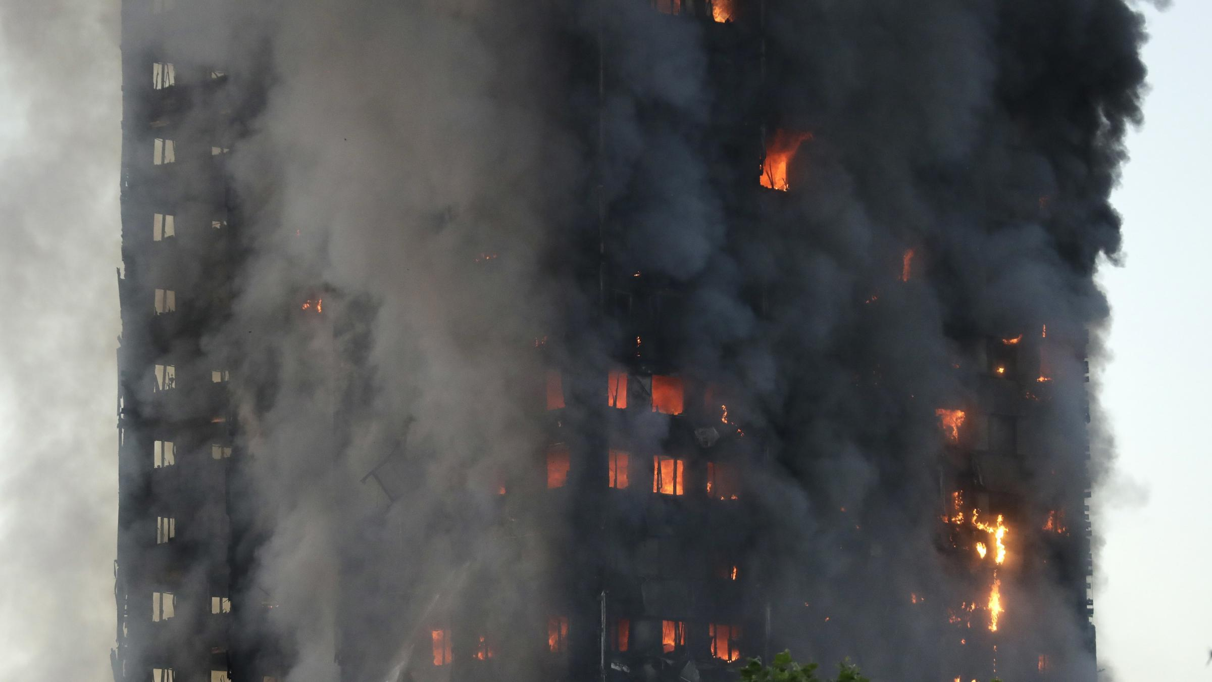 Firefighters battling massive blaze in London high-rise